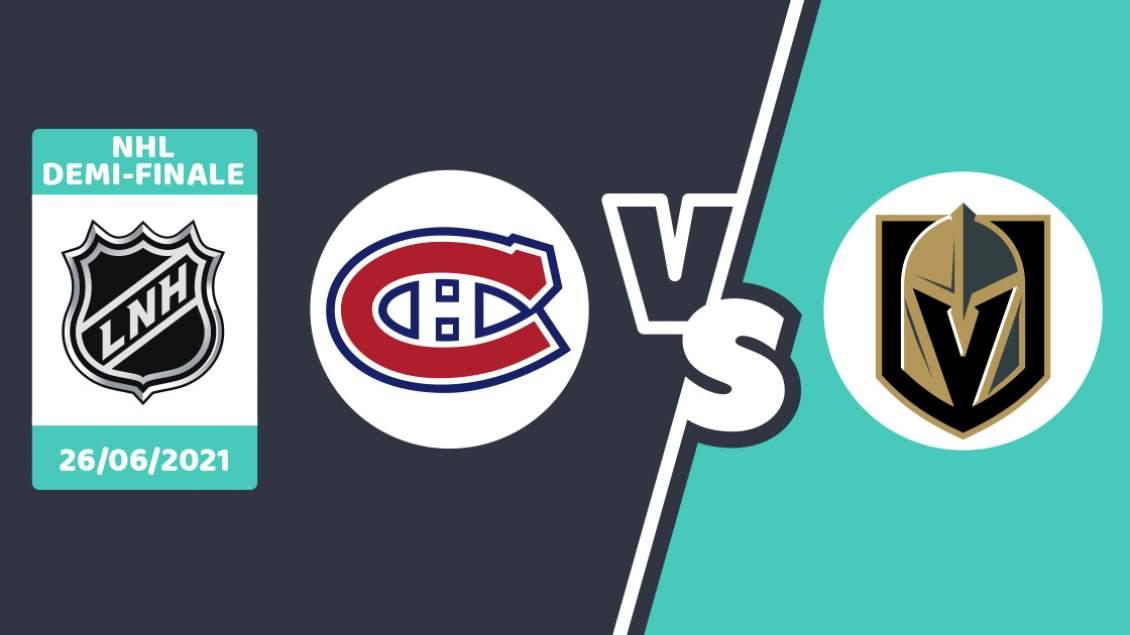 Pronostic Montreal Vegas Lundi 21 Juin 2021
