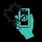 jouer sur une application mobile au canada
