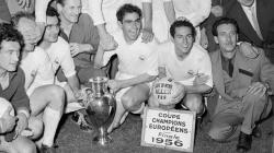 real madrid champion d'europe 1956