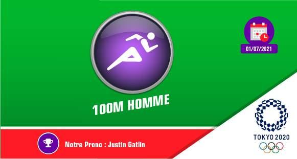 finale 100 metres JO 2021