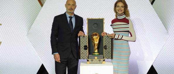 natalia vodianova frank leboeuf coupe du monde écrin vuiton
