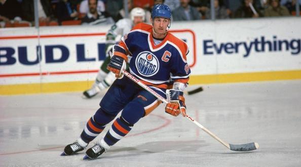 Wayne Gretzky Oilers d'Edmonton LNH